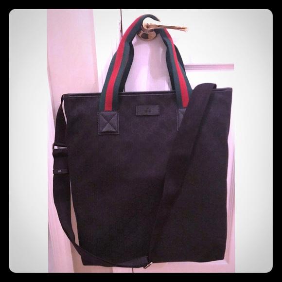 5365d5b0530c78 Gucci Bags | Authentic New Tote Bag W Shoulder Strap | Poshmark